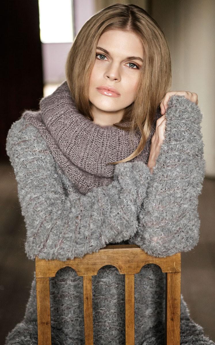 Lana Grossa LONGPULLI IM WEBMUSTER Micio/Silkhair