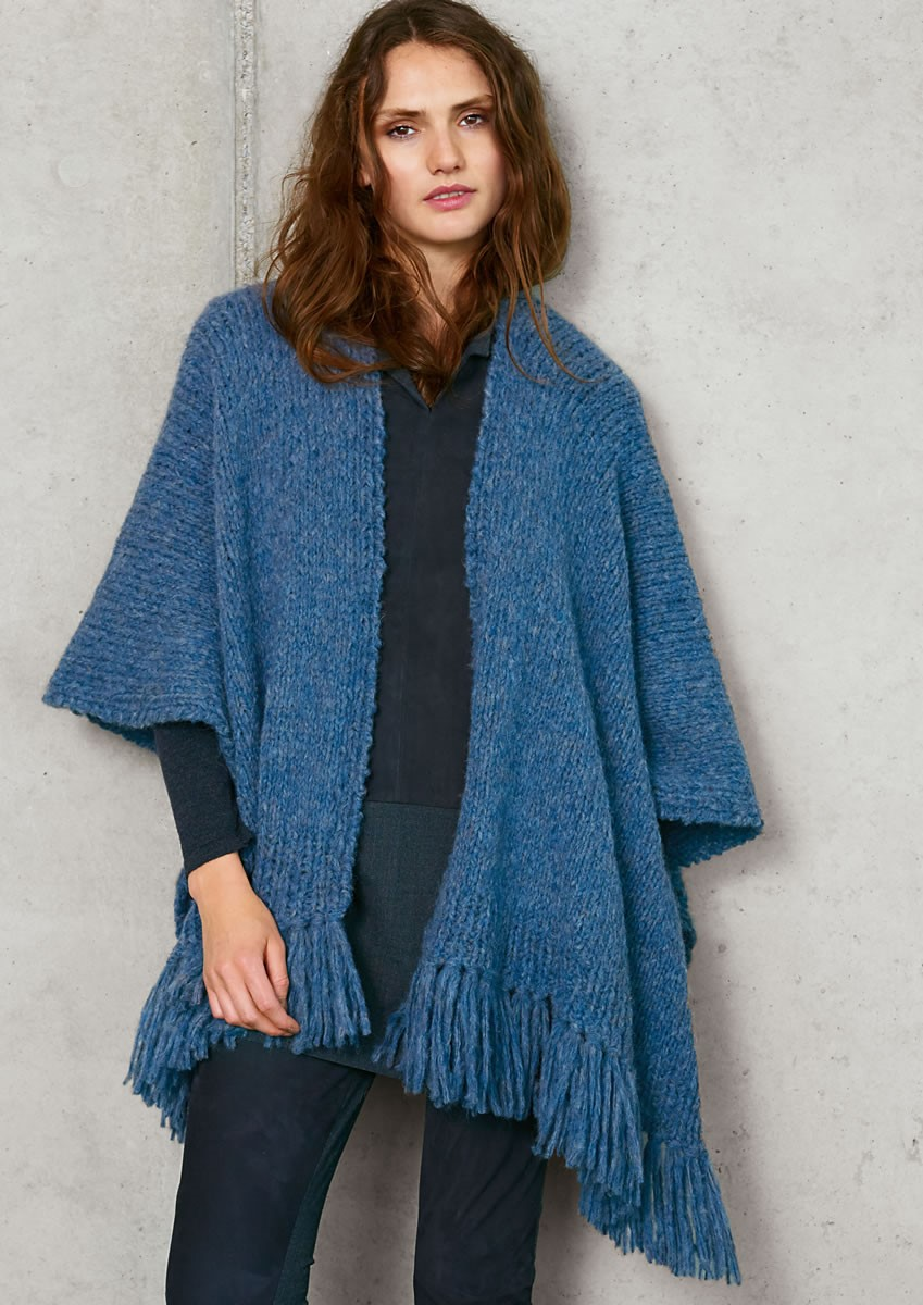 Lana Grossa BASIC PONCHO Cloud