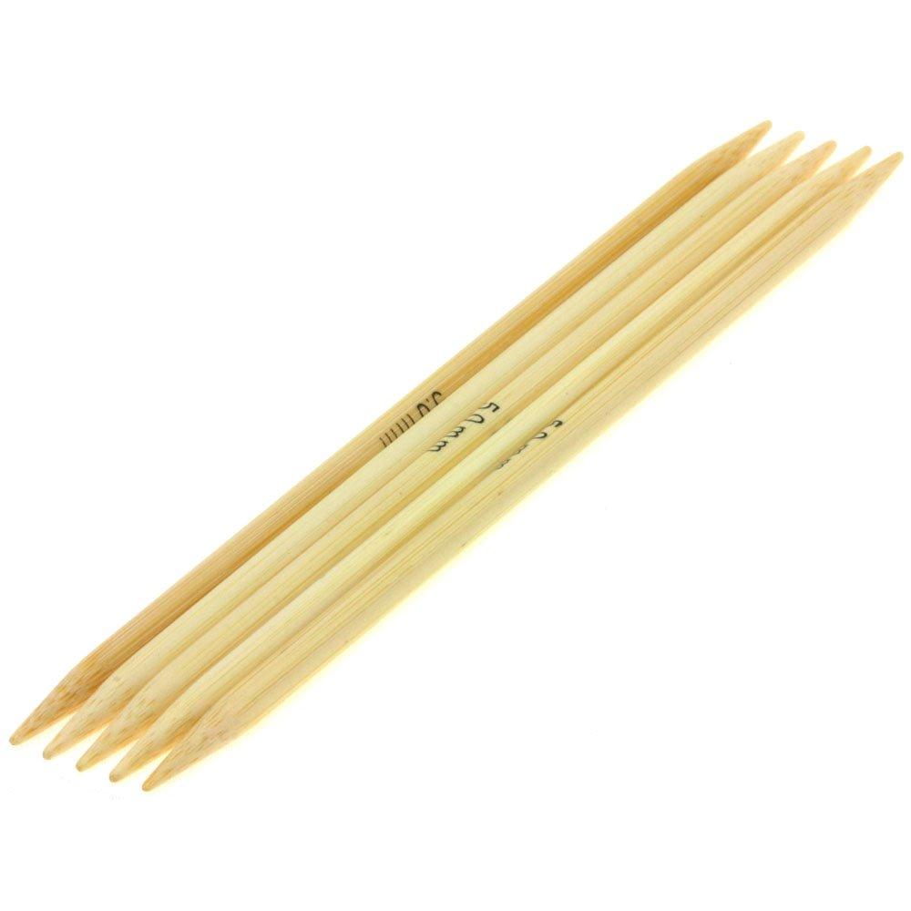 Lana Grossa Nadelspiel Bambus St. 5,0/15cm