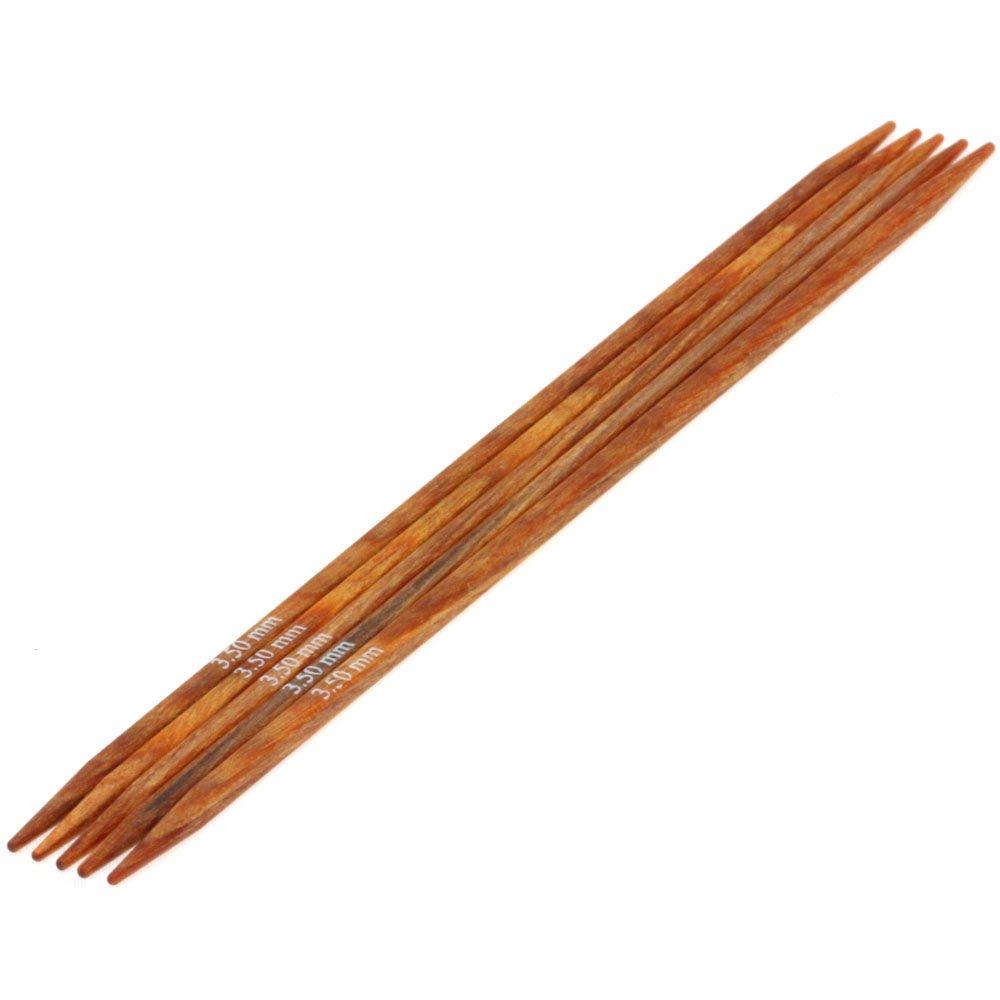 Lana Grossa Nadelspiel Design-Holz quattro St. 3,5/15cm