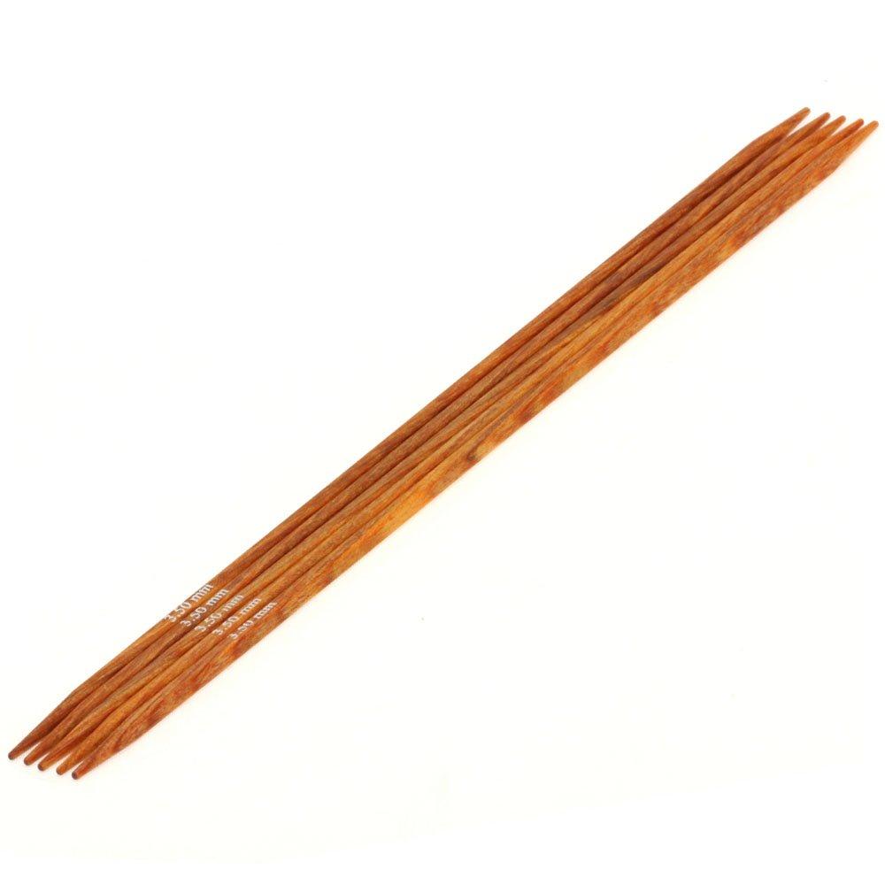 Lana Grossa Nadelspiel Design-Holz Quattro St. 3,5/20cm