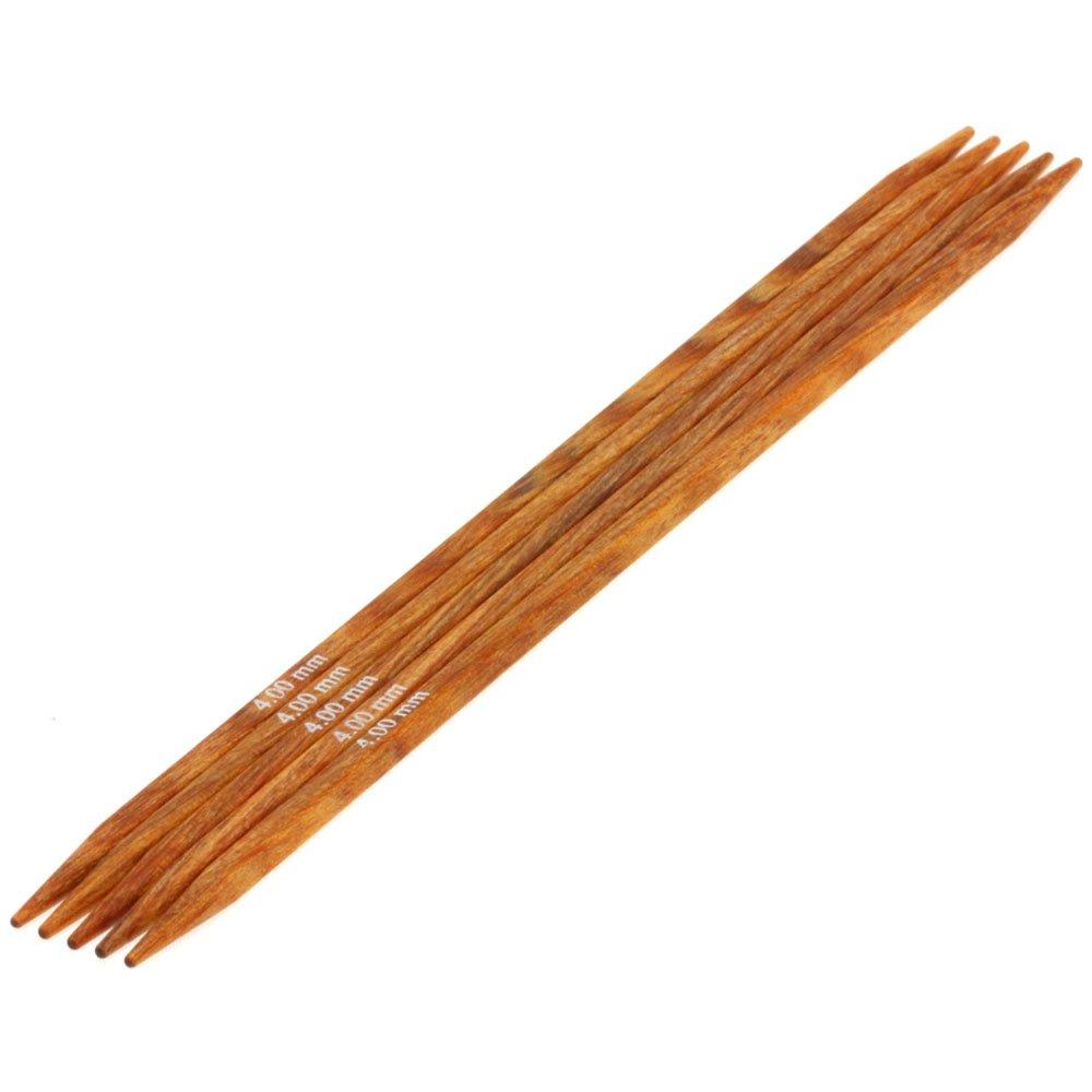 Lana Grossa Nadelspiel Design-Holz quattro St. 4,0/15cm