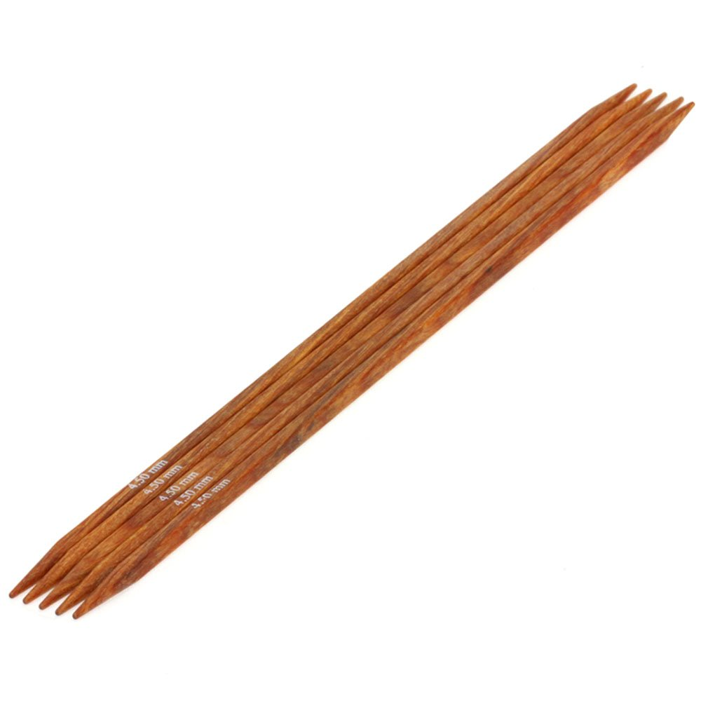 Lana Grossa Nadelspiel Design-Holz quattro St. 4,5/20cm