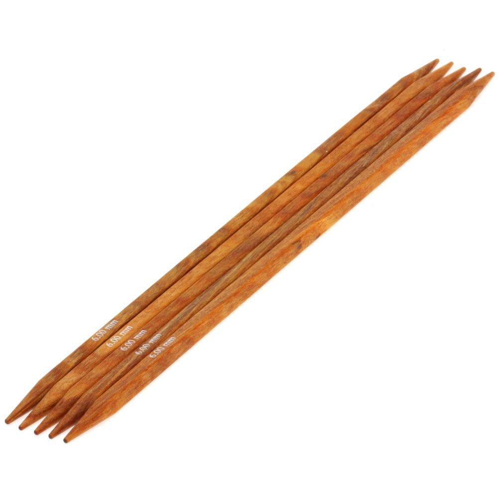 Lana Grossa Nadelspiel Design-Holz quattro St. 6,0/20cm