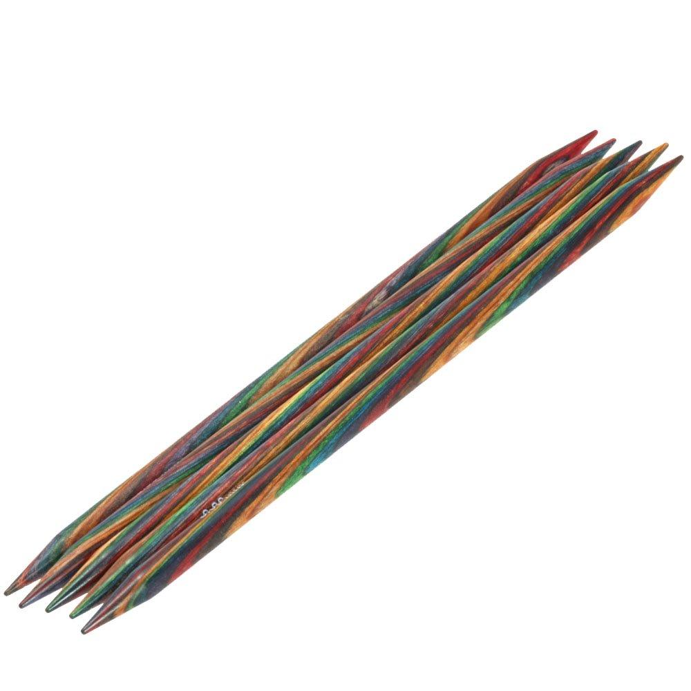 Lana Grossa Nadelspiel Design-Holz Color St. 8,0/20cm