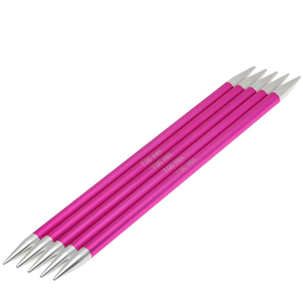 Lana Grossa Nadelspiel Aluminium Rainbow St. 7,0/20cm