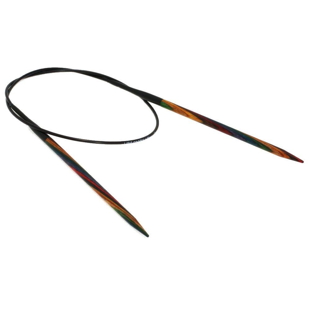 Lana Grossa Rundstricknadel Design-Holz Color St. 4,5/60cm