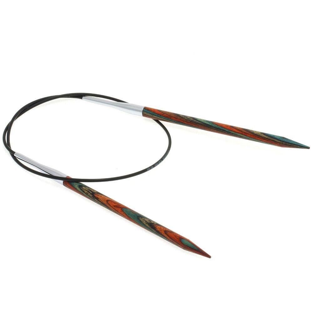 Lana Grossa Rundstricknadel Design-Holz Color St. 5,5/60cm