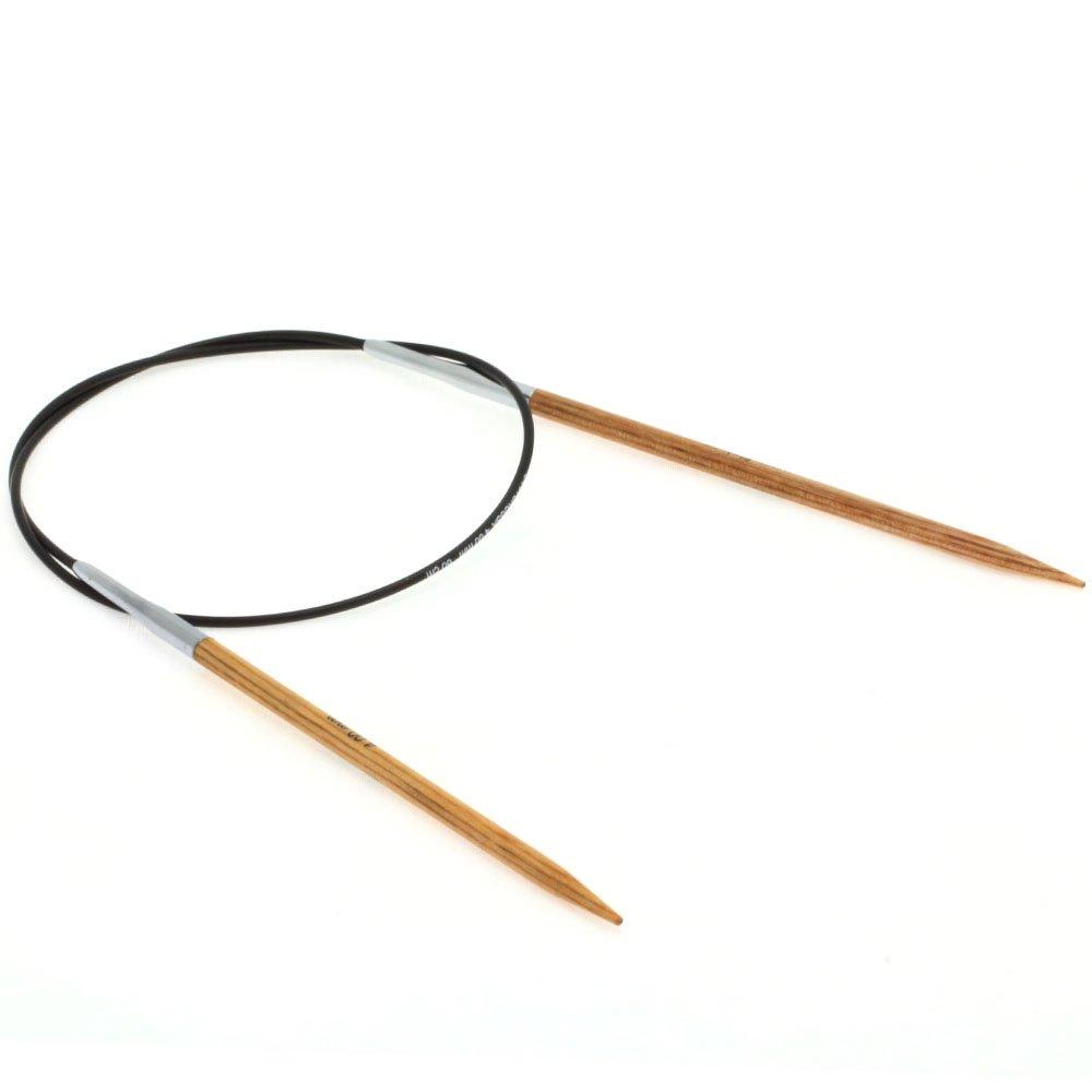 Lana Grossa Rundstricknadel Design-Holz Natur St. 4,0/ 60cm